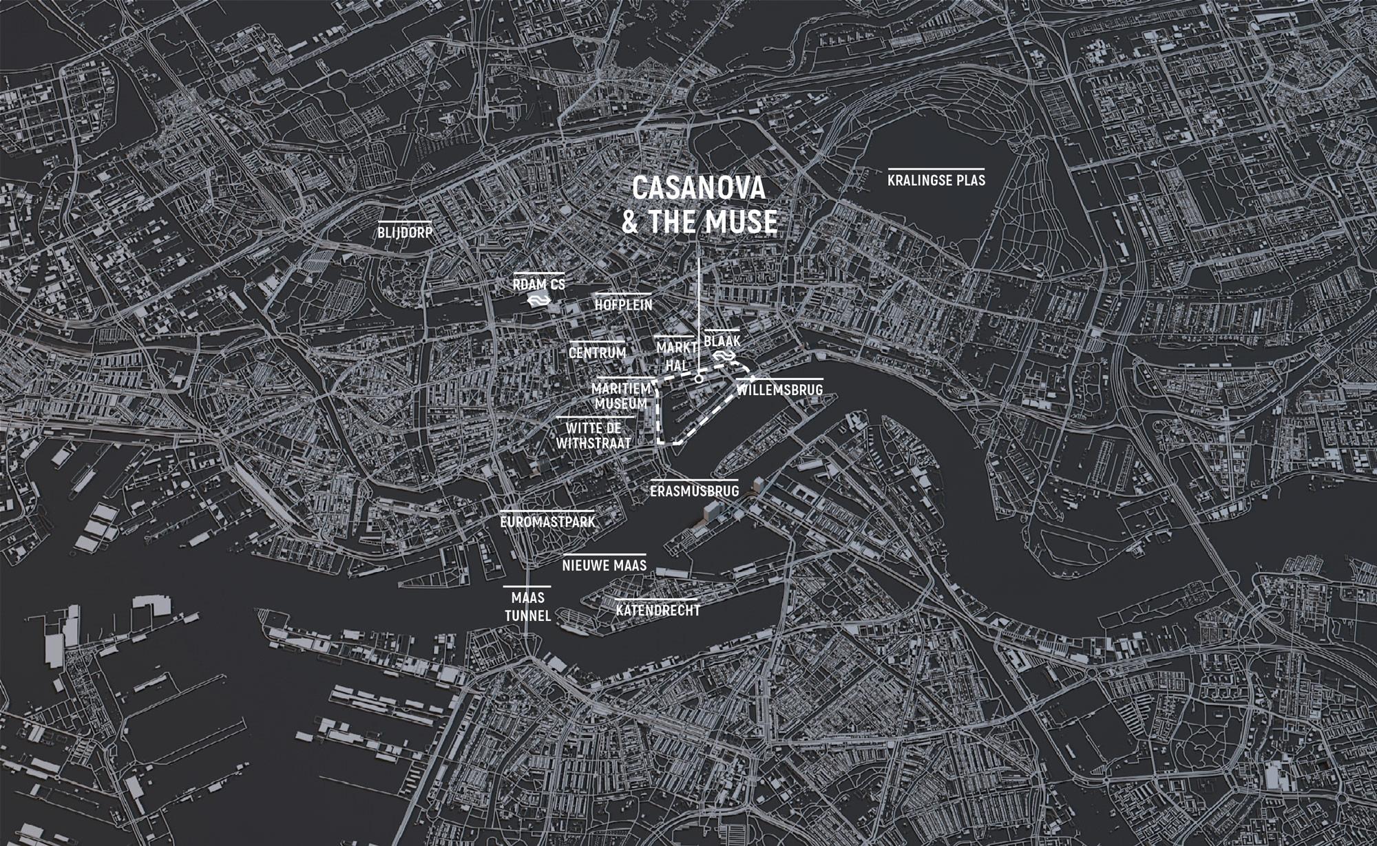 locatiekaart casanova